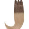 Vitash 25 Keratin Bonding strähnen | Haarverlaengerung | Extensions | Farbe #10/24 Hellaschbraun Mittelblond | 55cm