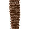 25 REMY Keratin | Extensions Haarverlaengerung | Bonding Stark gewellt Dunkelgoldblond