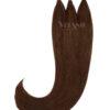 Vitash 25 Keratin Bonding straehnen   Haarverlaengerung   Extensions   Farbe #2 Dunkelbraun   65cm