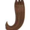 Vitash 25 Keratin Bonding straehnen | Haarverlaengerung | Extensions | Farbe #4 Schokobraun | 65cm