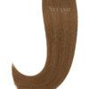 10 Remy Tape In Extensions Haarverlaengerung Farbe Hellbraun 50cm