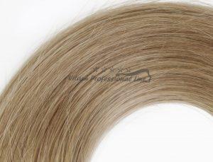 25 Russisches Echthaar Strähnen - 0,8 Gramm pro Bonding Strähne -50 cm- #18- Hellaschblond Mix
