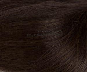 25 Russisches Echthaar Strähnen - 0,8 Gramm pro Bonding Strähne -50 cm- #2- dunkelbraun