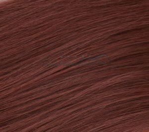 20 indische REMY Loop Echthaar Extension  MICRORING  0,5 Gramm Strähnen #35- kupferbraun