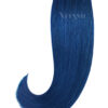 2 Remy Tape In Extensions Haarverlaengerung | Farbe Blau 50cm