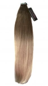 Vitash Tape In Hair Extensions Ombre Style, Tape In Haarverlängerung Ombre Style
