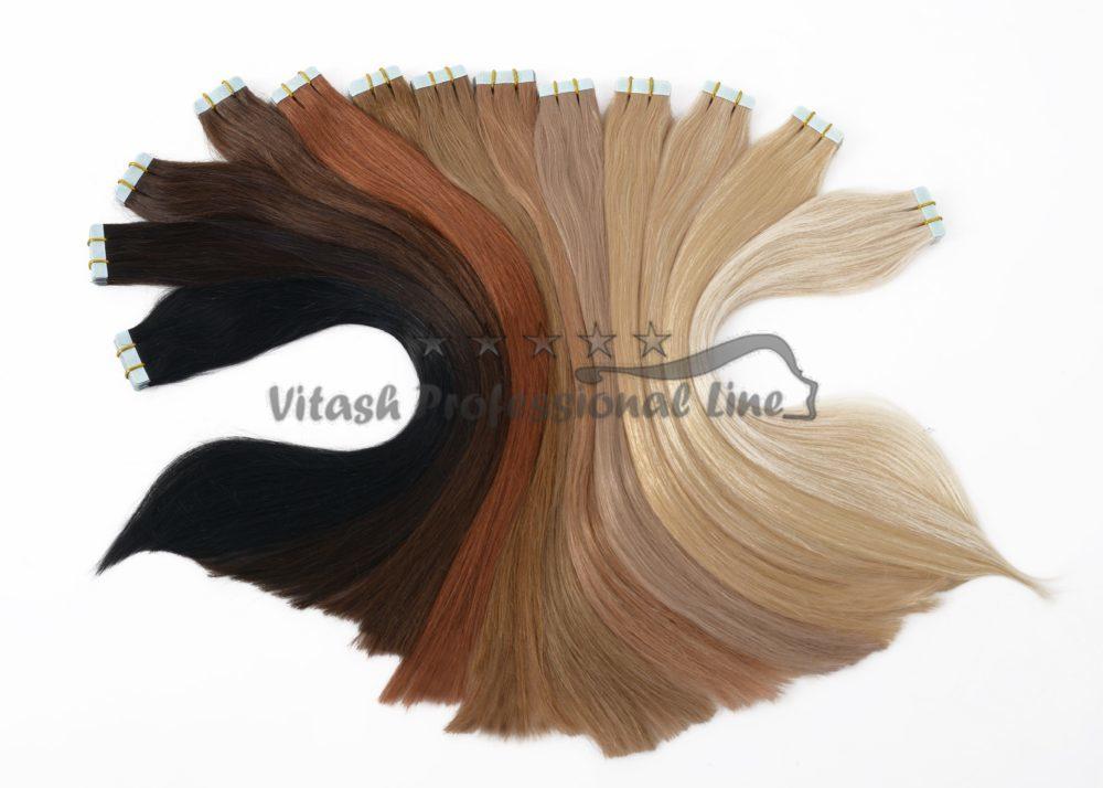 Vitash Haarverlängerung Tape In Keratin Bonding Extensions Russian Hair Russische Haare