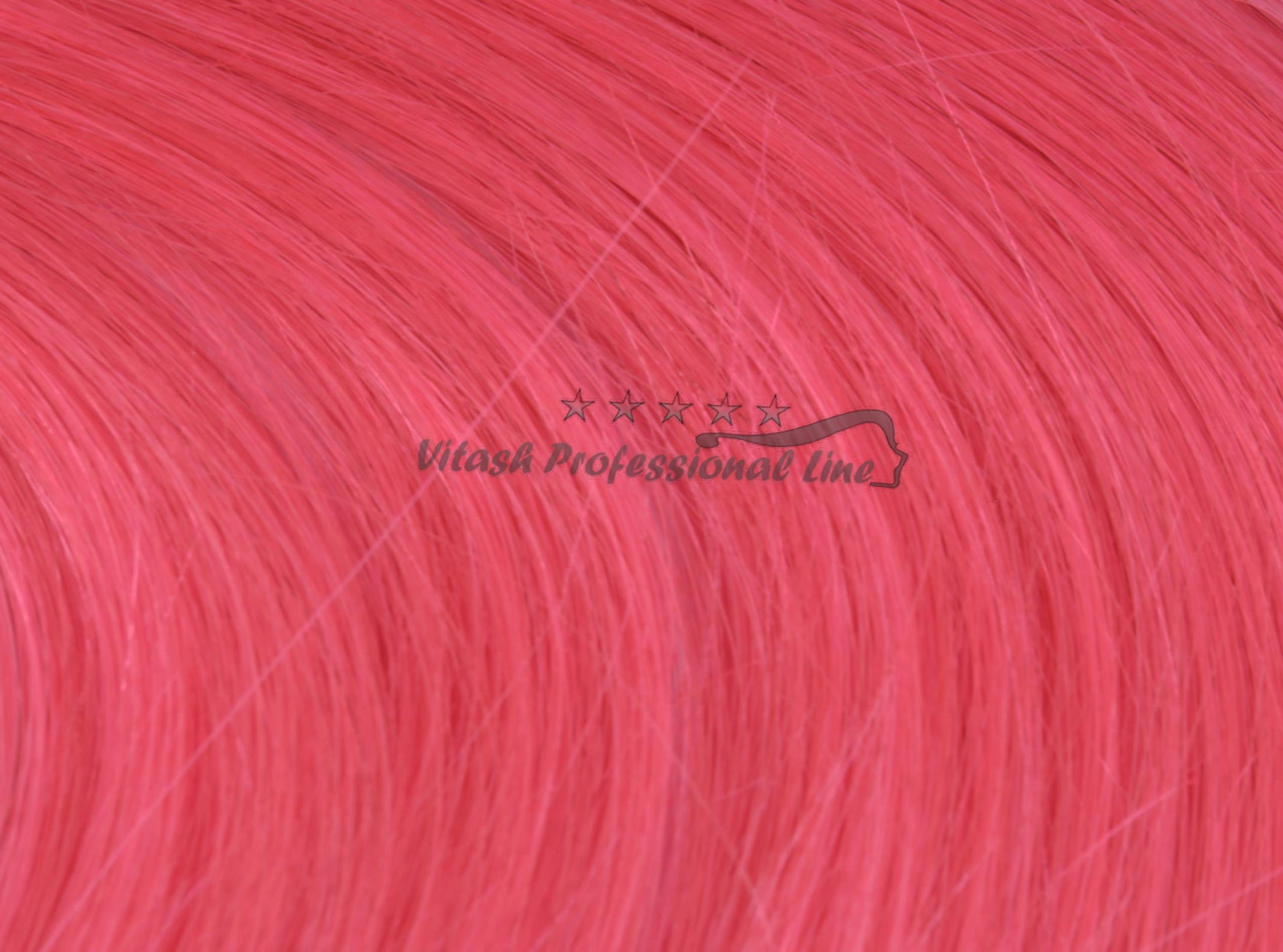 5 indische REMY 100% Echthaar Keratinbonding #pink