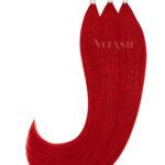 Vitash 25 Keratin Bonding strähnen   Haarverlaengerung   Extensions   Farbe Rot   55cm