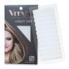 Vitash | Ersatz Tape | für Tape Extensions | Super Stark | 4x0,8cm 12 Stueck | Weiß | Vitash