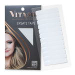 Vitash   Ersatz Tape   für Tape Extensions   Super Stark   4x0,8cm 12 Stueck   Weiß   Vitash