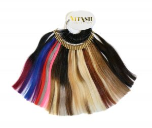 Vitash Extensions farbring Colorring Farbkarte Hairextensions Tape In gefertigt aus Echthaar
