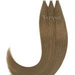 Vitash 25 Keratin Bonding strähnen | Haarverlaengerung | Extensions | Farbe #10 Aschhelbraun | 55cm
