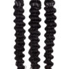 25 REMY Keratin Bonding | Extensions Haarverlaengerung | Stark gewellt Schwarzbraun | Dauergewellt