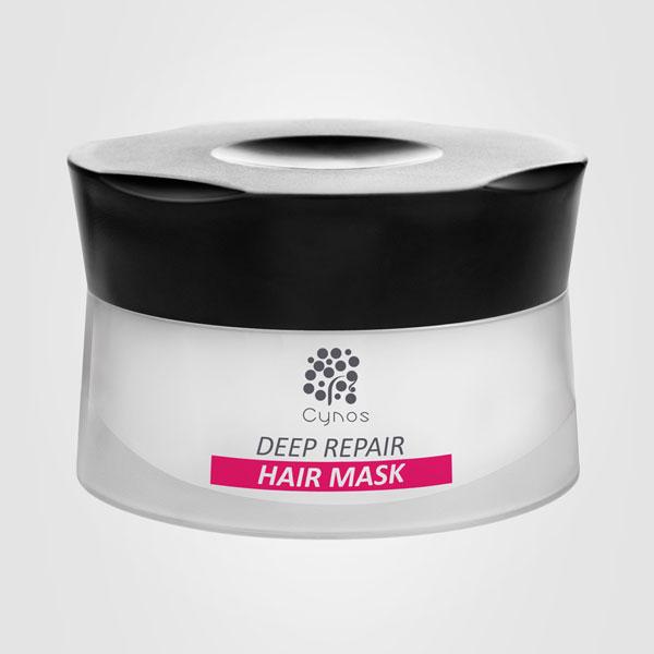 Cynos DEEP PEPAIR Mask für extrem geschädigtes Haar / 500 ml