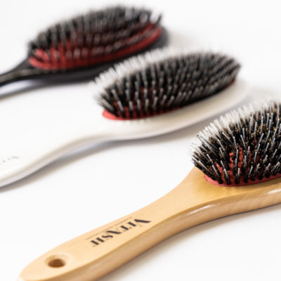 Viatsh Haarbürste Bürste Extensions Haarbürste Langhaarbürste Hair brush Extensionsbürste Extensions Bürste Pneumatikbürste Wildschweinebürste