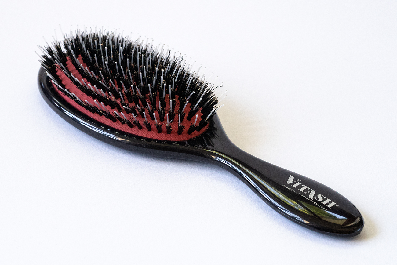Viatsh Haarbürste Bürste Extensions Haarbürste Langhaarbürste Hairbrush Extensionsbürste Extensions Bürste Pneumatikbürste Wildschweinebürste