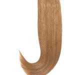 25 Russisches Echthaar | Bonding | Haarverlaengerung | Extensions | Farbe #12 Dunkelgoldblond | 50cm