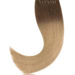 25 Russisches Echthaar Bonding   Haarverlaengerung   Extensions   Farbe Ombre Balayage #A   50cm