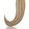 25 Russisches Echthaar | Bonding | Haarverlaengerung | Extensions | Farbe # Platinblond Hellaschbraun | 50cm